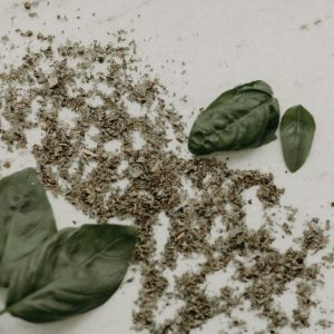 Basil Leaf - Basil is used in various traditional and folk systems of medicine, and is considered a sacred herb in the Hindu religion.