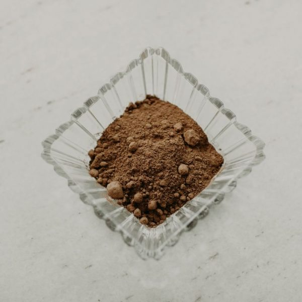 Cacao Powder -Cacao beans and nibs are bursting with more antioxidants than most fruits and vegetables. Contains caffeine.