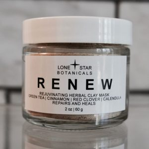 RENEW Rejuvenating Herbal Clay Mask all-natural