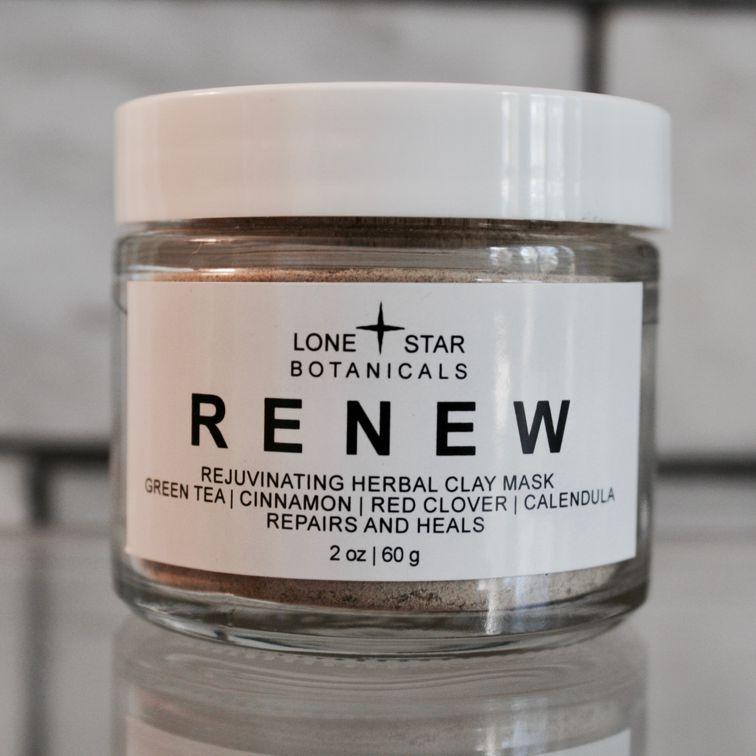 RENEW Rejuvenating Herbal Clay Mask all-natural
