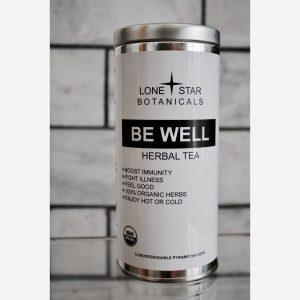 BE WELL Tea Blend (Sachets) Immune-Boosting