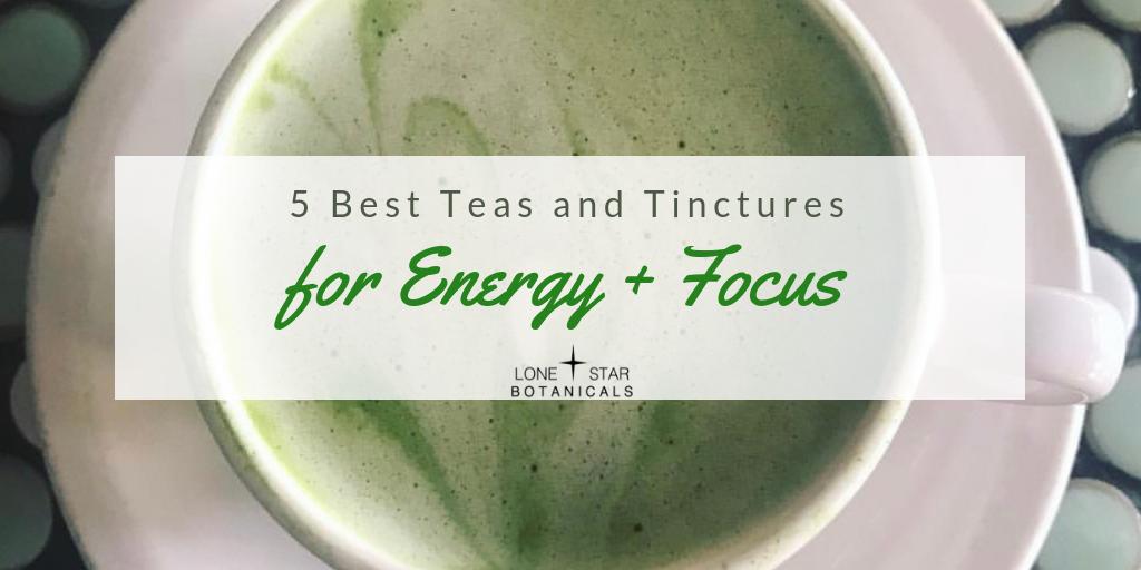 Tea for energy