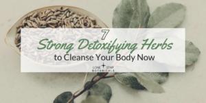 Detoxifying herbs