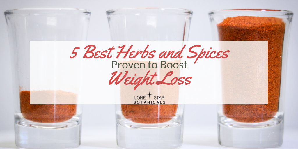 5 Best Herbs and Spices Proven to Boost Weight Loss