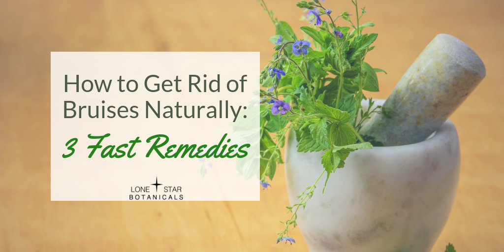 How to Get Rid of Bruises Naturally: 3 Fast Remedies
