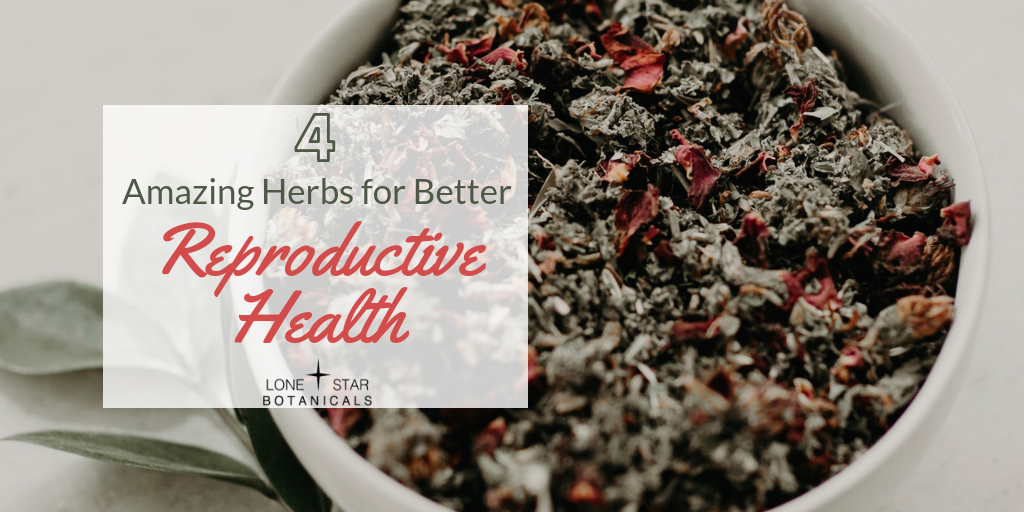 4 Amazing Herbs for Better Reproductive Health