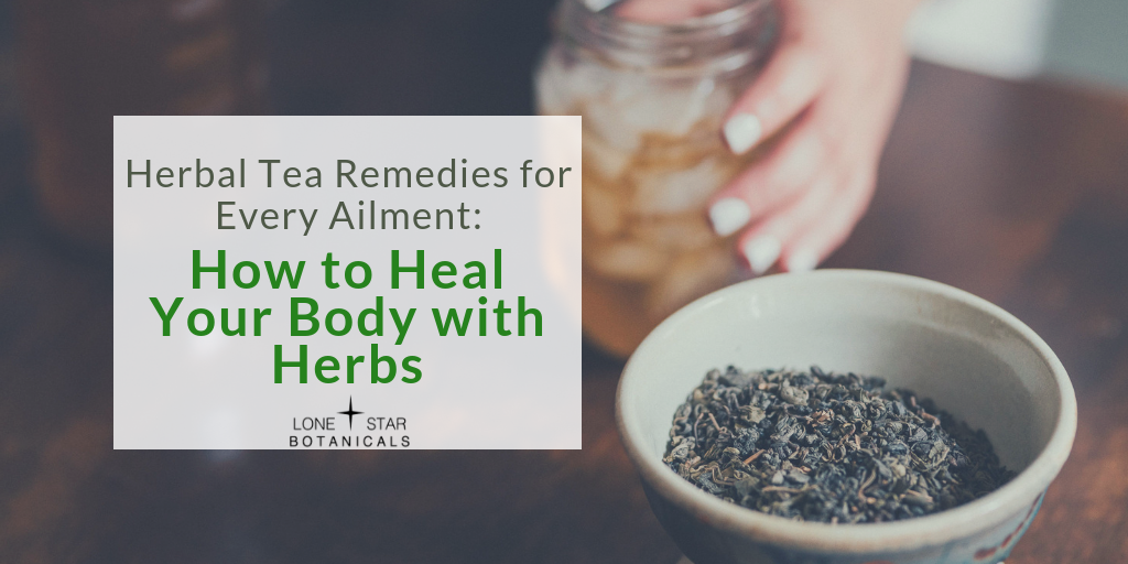 Herbal Tea Remedies for Every Ailment: How to Heal Your Body with Herbs