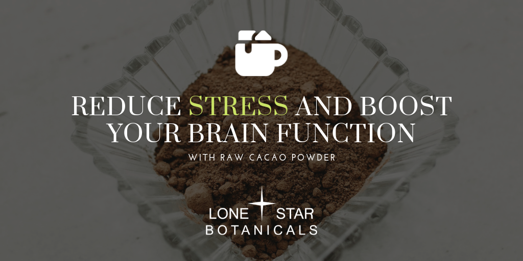 Reduce Stress and Boost Your Brain Function with Raw Cacao Powder