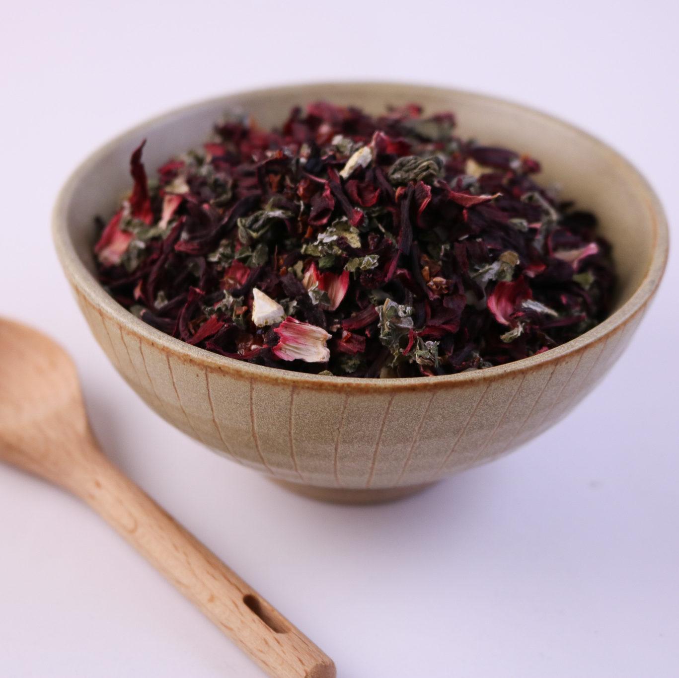 Hibiscus Delight Loose Leaf Tea Blend 12 Lb Lone Star Botanicals