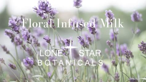 Floral Infused Milks